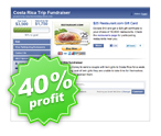 Facebook Fundraisers Restaurant Cards
