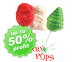 Christmas Lollipops Fundraising