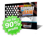 Basketball Fundraising Scratch Cards