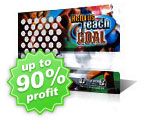 Sports Fundraising Scratch Cards
